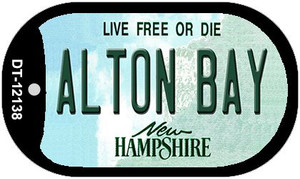 Alton Bay New Hampshire Wholesale Novelty Metal Dog Tag Necklace DT-12138