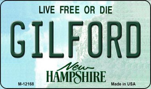Gilford New Hampshire Wholesale Novelty Metal Magnet M-12168