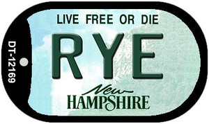 Rye New Hampshire Wholesale Novelty Metal Dog Tag Necklace DT-12169