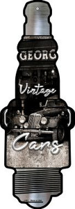 Vintage Cars Wholesale Novelty Metal Spark Plug Sign J-061