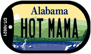 Hot Mama Alabama Wholesale Novelty Metal Dog Tag Necklace DT-10021