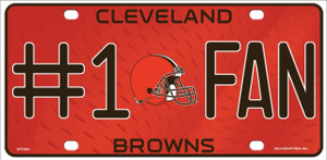 Cleveland Browns Fan Wholesale Metal Novelty License Plate