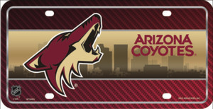 Arizona Coyotes Wholesale Metal Novelty License Plate LP-775