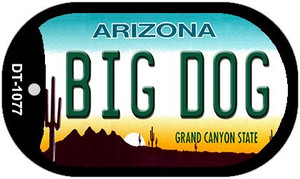 Big Dog Arizona Wholesale Novelty Metal Dog Tag Necklace DT-1077