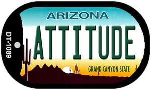 Attitude Arizona Wholesale Novelty Metal Dog Tag Necklace DT-1089