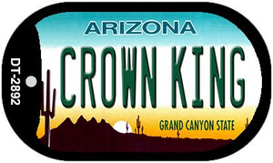 Crown King Arizona Wholesale Novelty Metal Dog Tag Necklace DT-2892