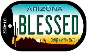 Blessed Arizona Wholesale Novelty Metal Dog Tag Necklace DT-4262