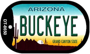 Buckeye Arizona Wholesale Novelty Metal Dog Tag Necklace DT-8650