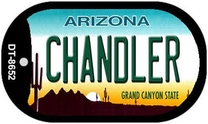 Chandler Arizona Wholesale Novelty Metal Dog Tag Necklace DT-8652