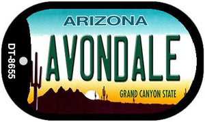 Avondale Arizona Wholesale Novelty Metal Dog Tag Necklace DT-8655