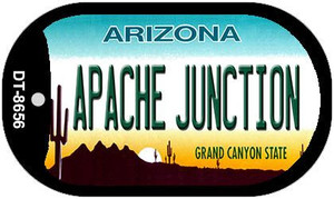 Apache Junction Arizona Wholesale Novelty Metal Dog Tag Necklace DT-8656