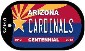 Cardinals Arizona Centennial Wholesale Novelty Metal Dog Tag Necklace DT-1815