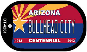 Bullhead City Arizona Centennial Wholesale Novelty Metal Dog Tag Necklace DT-4261