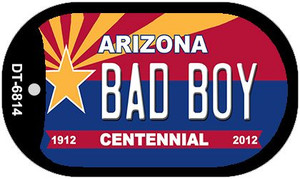 Bad Boy Arizona Centennial Wholesale Novelty Metal Dog Tag Necklace DT-6814