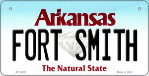 Fort Smith Arkansas Wholesale Novelty Metal Bicycle Plate BP-10027