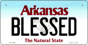 Blessed Arkansas Wholesale Novelty Metal Bicycle Plate BP-10056