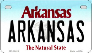 Arkansas Wholesale Novelty Metal Motorcycle Plate MP-10025