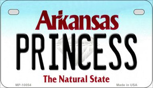 Princess Arkansas Wholesale Novelty Metal Motorcycle Plate MP-10054