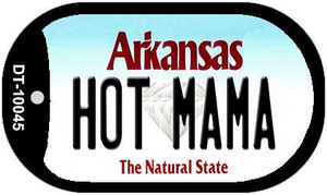 Hot Mama Arkansas Wholesale Novelty Metal Dog Tag Necklace DT-10045