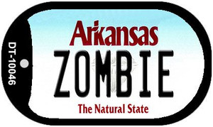Zombie Arkansas Wholesale Novelty Metal Dog Tag Necklace DT-10046