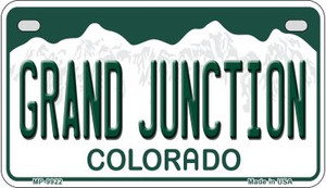 Grand Junction Colorado Wholesale Novelty Metal Motorcycle Plate MP-9922