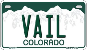 Vail Colorado Wholesale Novelty Metal Motorcycle Plate MP-9927