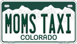 Moms Taxi Colorado Wholesale Novelty Metal Motorcycle Plate MP-9944