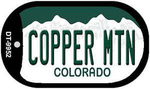 Copper Mountain Colorado Wholesale Novelty Metal Dog Tag Necklace DT-9952