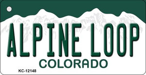 Alpine Loop Colorado Wholesale Novelty Metal Key Chain KC-12148