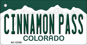 Cinnamon Pass Colorado Wholesale Novelty Metal Key Chain KC-12150