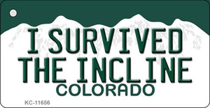 I Survived The Incline Colorado Wholesale Novelty Metal Key Chain KC-11656