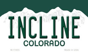 Incline Colorado Wholesale Novelty Metal Magnet M-11655