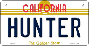 Hunter California Wholesale Novelty Metal Bicycle Plate BP-6849