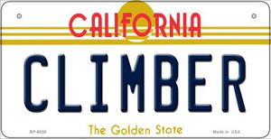 Climber California Wholesale Novelty Metal Bicycle Plate BP-6850