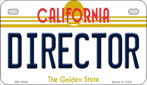 Director California Wholesale Novelty Metal Motorcycle Plate MP-4894