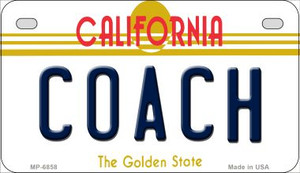 Coach California Wholesale Novelty Metal Motorcycle Plate MP-6858