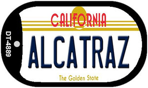 Alcatraz California Wholesale Novelty Metal Dog Tag Necklace DT-4889