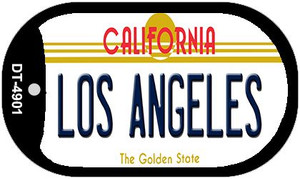 Los Angeles California Wholesale Novelty Metal Dog Tag Necklace DT-4901
