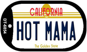 Hot Mama California Wholesale Novelty Metal Dog Tag Necklace DT-6854