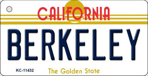 Berkeley California Wholesale Novelty Metal Key Chain KC-11432
