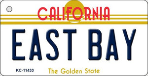 East Bay California Wholesale Novelty Metal Key Chain KC-11433