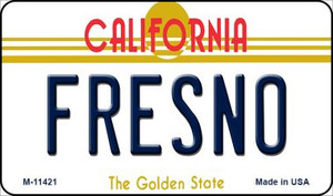 Fresno California Wholesale Novelty Metal Magnet M-11421