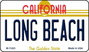 Long Beach California Wholesale Novelty Metal Magnet M-11423