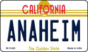 Anaheim California Wholesale Novelty Metal Magnet M-11426