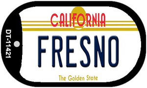 Fresno California Wholesale Novelty Metal Dog Tag Necklace DT-11421