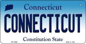 Connecticut Wholesale Novelty Metal Bicycle Plate BP-10888