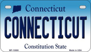 Connecticut Wholesale Novelty Metal Motorcycle Plate MP-10888
