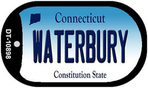 Waterbury Connecticut Wholesale Novelty Metal Dog Tag Necklace DT-10898