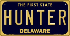 Hunter Delaware Wholesale Novelty Metal Bicycle Plate BP-6720