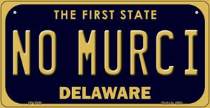 No Murci Delaware Wholesale Novelty Metal Bicycle Plate BP-6742
